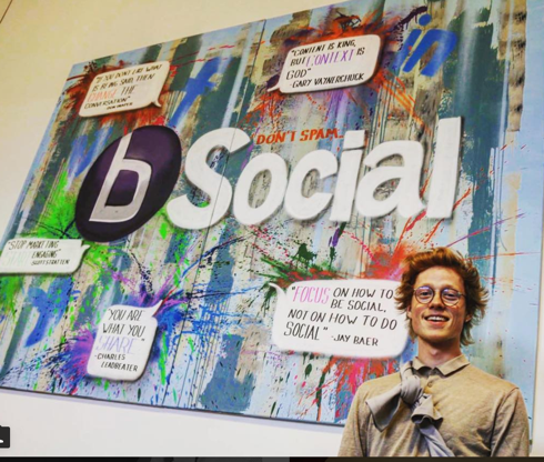 Bsocial: Social Media – Graffiti kunstner